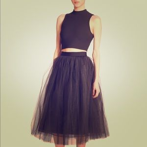 New Elizabeth and James tulle skirt